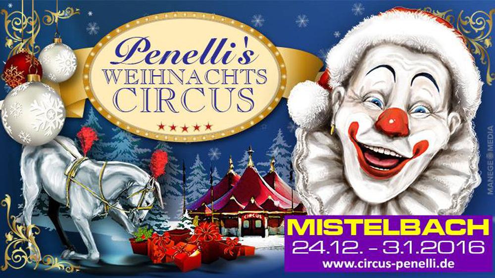 Penelli's Weihnachtscircus
