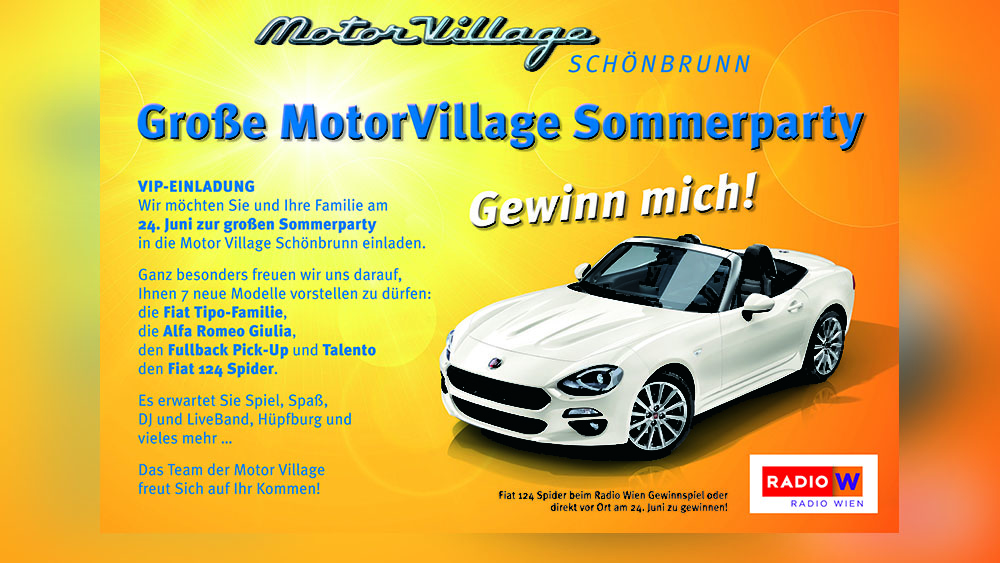 MotorVillage Sommerparty